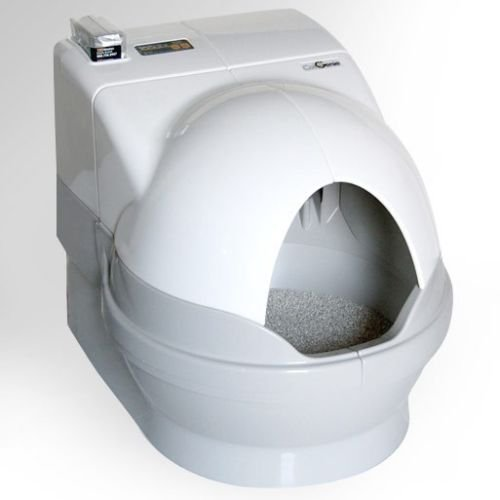 Cat Self-Cleaning Litter Box DOME and SIDEWALLS by GenieDome by GenieDome
