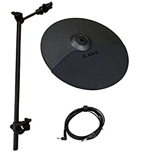 alesis nitro cymbal expansion set 10 inch cymbal 22in cymbal arm rack clamp and. Black Bedroom Furniture Sets. Home Design Ideas