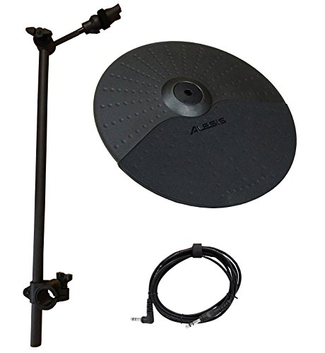 Alesis Nitro Cymbal Expansion Set: 10 Inch Cymbal, 22in Cymbal Arm, Rack Clamp and 10ft TRS Cable (10 inch Standard Cymbal) by Alesis Cymbal Set