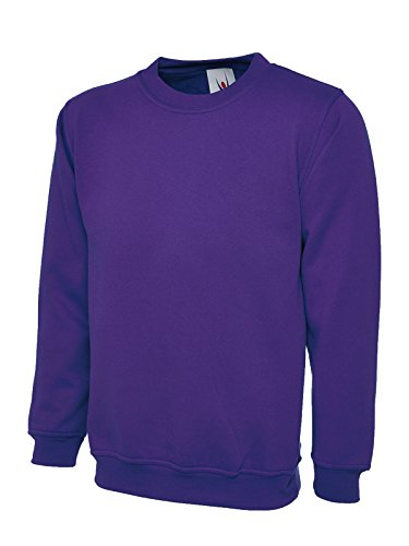 Uneek Felpa Lavoro Maschile Classica Da Purple 00xwqP4H