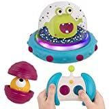 B. Toys - Bumper Space Car Marky Mars-Light-Up Simple Remote Control Car for Toddlers with Alien Driver
