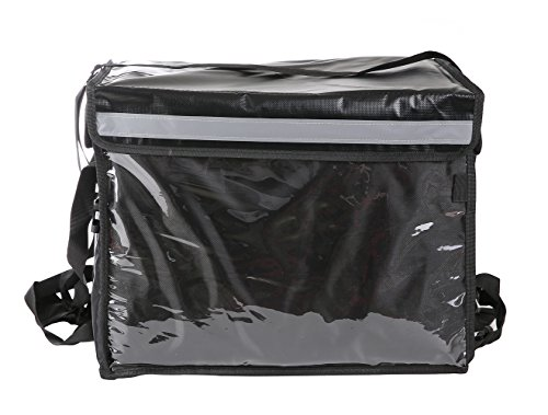 The New Commercial Insulated Food Delivery Bag with Partition Board,19.5