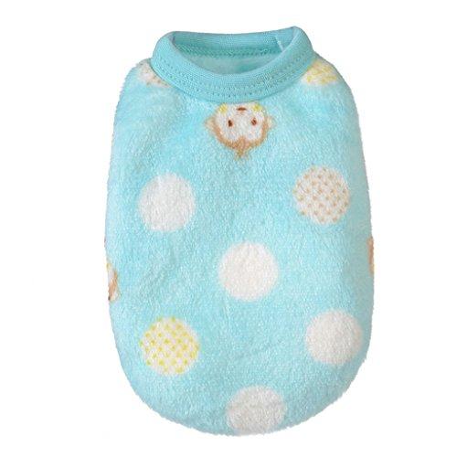 Costumes Cat Sale Pet For (kaifongfu sales,Pet Cat Dog Puppy Warm Knit Coat Clothes Costume Jacket (L,)