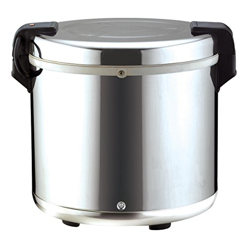 Chef's Supreme - 100 cup Stainless Rice Warmer by Chef's Supreme