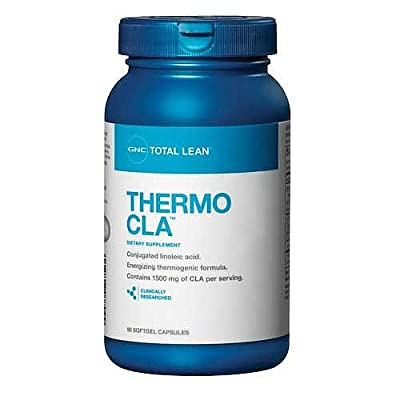 GNC Total Thermo CLA Nutritional Supplement, 90 Count
