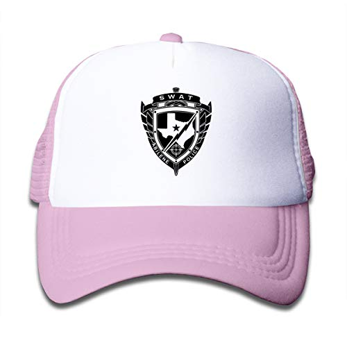 (Riizm-Cap SWAT Kids Baseball Hats Pink)