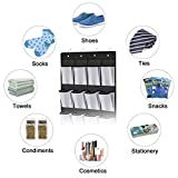 Kootek Over The Door Shoe Organizer, Mesh Shoe