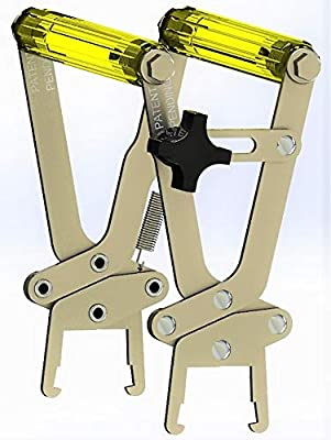 Beehive Frame Grip - Beekeeping Tool Supplies for Bee Frame Handling Ease - Stainless Steel with Locking Mechanism by Little Mule