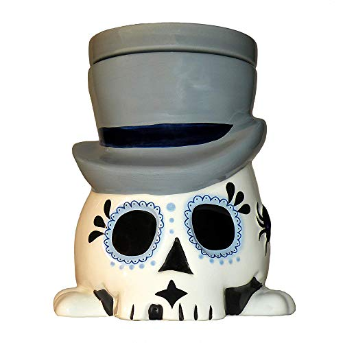 Day of the Dead (Día de los Muertos) Sugar Skull Undertaker - Horror Style Wax Warmer ()