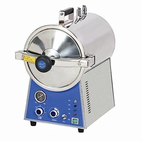 Dentist Mall Lab Portable Pressure 24L Steam Autoclave Sterilizer Stainless Steel by Dentist Mall
