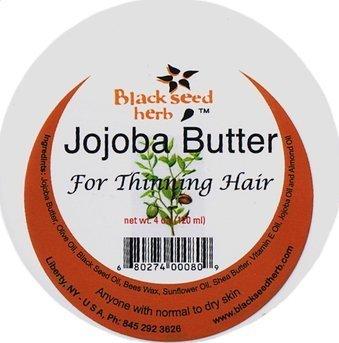 Ginkgo Jojoba Hair Butter for Thinning Hair- 6 oz. (Sweet Butter Jojoba)