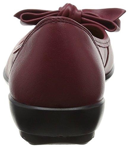 Donna Ruby HotterJewel Basse Ballerine Red gxwf1T