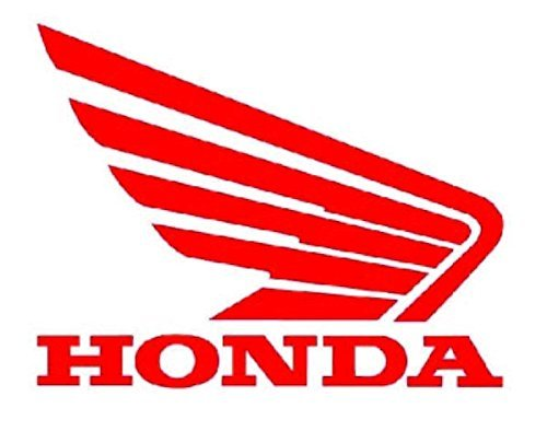 """Honda-Wing - Vinyl - 4"""" wide (color: RED) decal laptop tablet skateboard car windows stickers"""