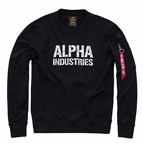 Industries white Alpha Black Uomo Lunghe Maniche Giacca gdwdYq