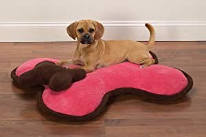 Amazon.com : Slumber Pet Large - Pink - Bone Bed''s for