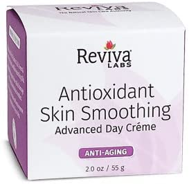 Reviva Labs Antioxidant Skin Smoothing Advanced Day Creme 2oz New Packaging