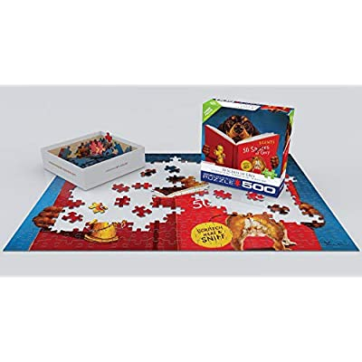 EuroGraphics 8500-5451 50 Scents of Grey by Lucia Heffernan 500Piece Puzzle: Toys & Games