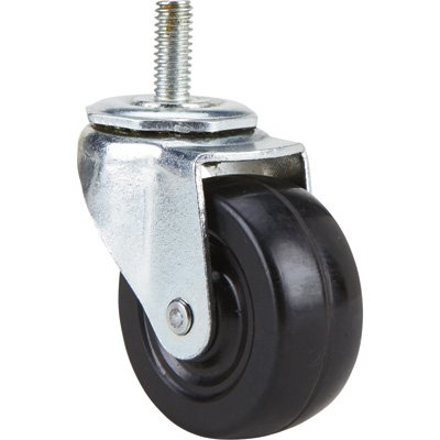 Fairbanks Swivel Caster with Threaded Post - 2in. x 3/4in. - Light Medium Duty Casters