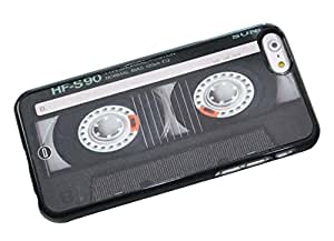1888998685336 [Global Case] Music is my life Radio DJ CD Cassette Recorder BoomBox Passion Instrument Guitar Piano Acoustic I love Music Club (BLACK CASE) Snap-on Cover Shell for Samsung Galaxy S4
