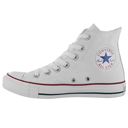Converse All Star Hi Canvas, Sneaker Unisex – Adulto Bianco