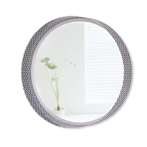 Folkulture Decorative Wall Mirror or Round Mirror for Living Room, Bathroom Mirror, -