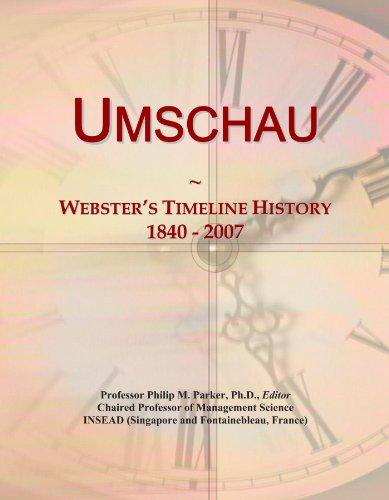 Umschau: Webster's Timeline History, 1840 - 2007