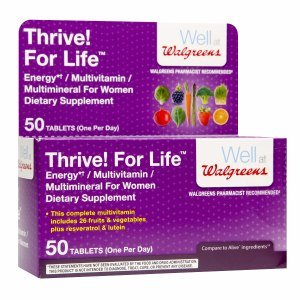 Walgreens Thrive! for Life Multivitamin/Multimineral for Women, Tablets, 79 50 Each