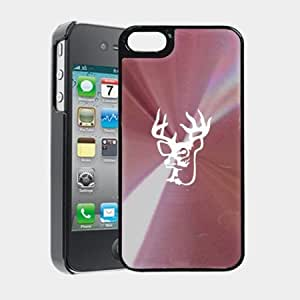 Camouflage Camo Deer iPhone 5 Case iPhone 5S Case - MetalTouch CD Pink Aluminium Shell Protective Case