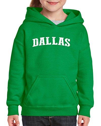 Mom`s Favorite Texas State Flag Proud Texan Dallas Traveler`s Gift Unisex Hoodie for Girls and Boys (XLIG) Irish Green ()