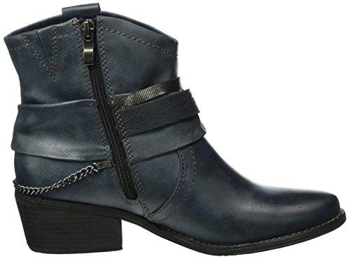 Marco Tozzi Damen 25043 Kurzschaft Stiefel Blau (Navy Antic Com 820)