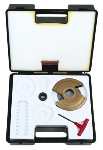 Insert Shaper Cutters - Freud RP1000 Insert Knife Raised Panel Shaper Cutter Head, 1-1/4 Bore