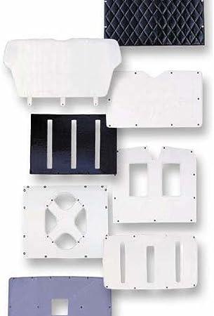 Standard Long Nose Hood 377 379 378 Belmor WF-1987BQ-1 Winterfront Grill Cover for Peterbilt 375 1986-2006