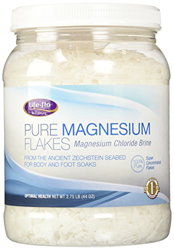 Life-Flo Health Care Living Pure Magnesium Flakes, 44 Ounce