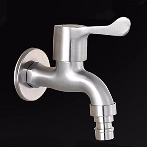 Lalaky Taps Faucet Kitchen Mixer Sink Waterfall Bathroom Mixer Basin Mixer Tap for Kitchen Bathroom and Washroom Stainless Steel Brushed Tip