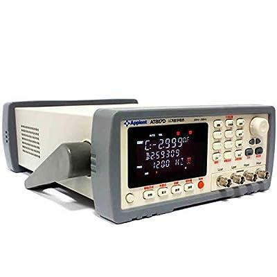 Digital LCR Meter High Precision AT817D 50Hz -100Ka Hz 10 Points Four-color VFDS Display Digital LCR Bridge