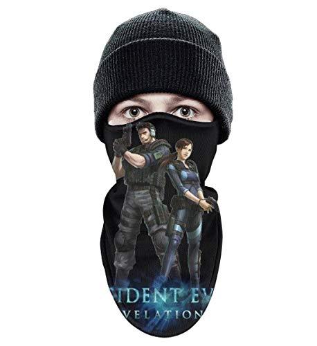 Resident Evil Revelations All Costumes - Unisex Winter Windproof Resident-Evil-Revelations- Half Face