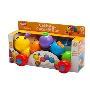 Cathy The Caterpillar Baby Toy by ToyCenter
