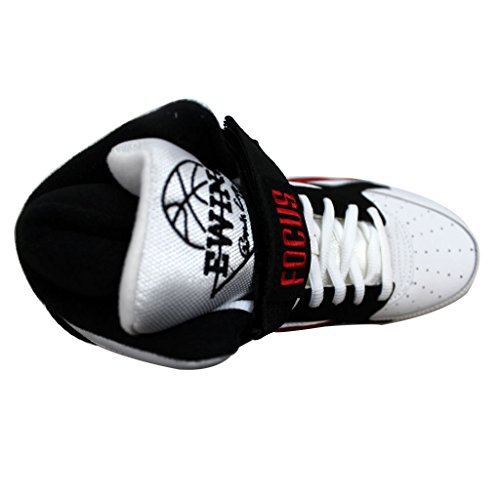 Zapatillas De Baloncesto Patrick Ewing Focus - Wht / Chred / Black: Talla 6