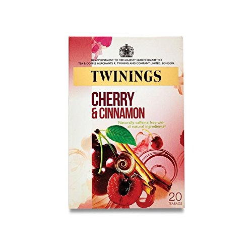 Twinings Cherry and Cinnamon - 20 Tea Bags (Pack of 4) (Cinnamon Cherry Twinings)