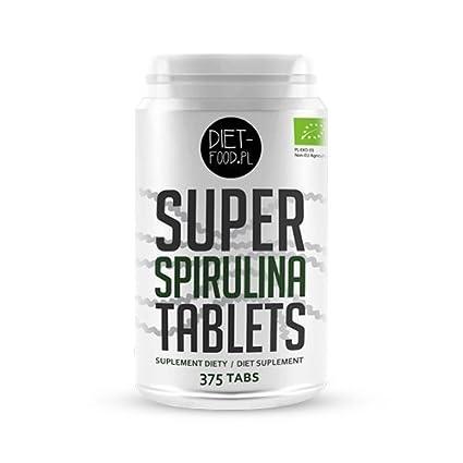 Bio Spirulina - Suplemento natural a base de alga espirulina - 375 comprimidos de espirulina natural