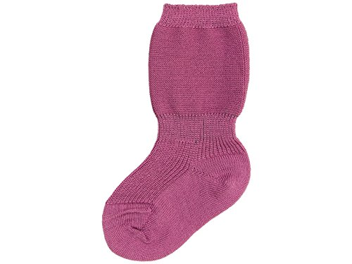 Grödo (Groedo) 100% Organic Merino Wool Baby Infant Socks (3 Pack) Imported from Germany (02 (9-12 Months), Lavender)