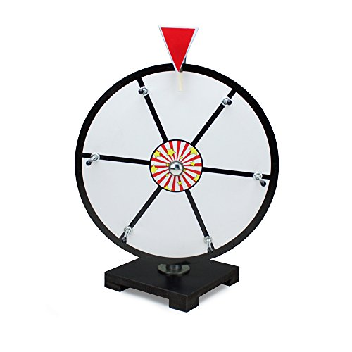 Dry Erase Prize Wheel (12 Inch White Dry Erase Prize Wheel By Midway)