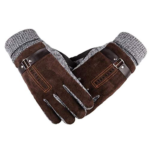 1 Pack (1 Pair) Men Leather Winter Gloves Thermal Warm Unisex Women Boys Youth Greatest Popular Extreme Gym Football Golf Plus Screen Tactical Work Hand Wrist Strap Dryer Touch Glove, Type-02 (Youth Football Gloves Batman)