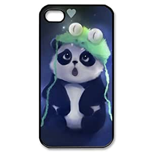 Lovely Panda Protective Case 261 For Iphone 4 4S case cover At ERZHOU Tech Store