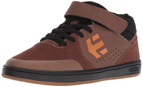 Etnies Unisex Marana MT Skate Shoe, Brown/Black/Gum, 7C Medium US Big Kid