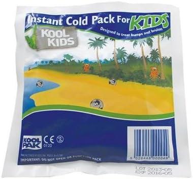 Compresa fr/ía instant/ánea Koolpak Koolkids paquete de 20 unidades