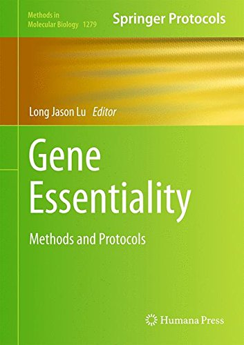 Gene Essentiality: Methods and Protocols (Methods in Molecular Biology)