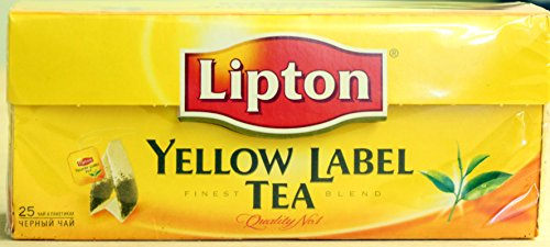 Lipton Yellow Label Tea, Black Tea, 25 Bags