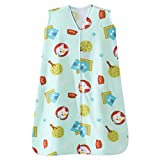 Halo - Safe Dreams - Dogs and Paws Sleepsack Wearable Blanket, Poly Knit, Medium