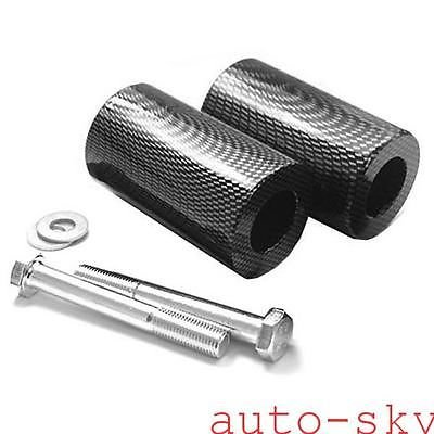 (Wotefusi Motorcycle New Snakeskin Pair 2 Pieces Frame Sliders Screws Set For Yamaha FZ6 2004-2008 2005 2006 2007)